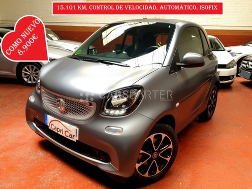Smart forTwo Coupe 52 Passion 52 kW (71 CV) nullcv 2015 - Madrid. 1.