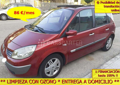 Renault Scenic Scénic II 1.9DCI Confort Expression 120cv 2005 - Madrid. 1.