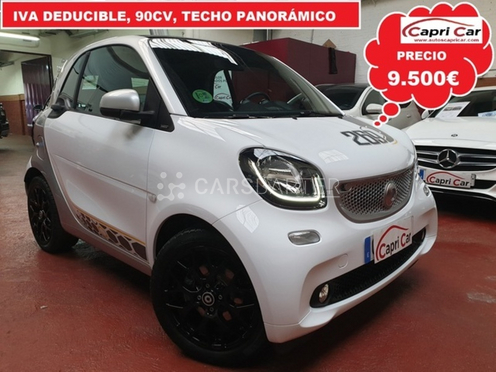 Smart forTwo Coupe 66 Passion 66 kW (90 CV) nullcv 2016 - Madrid. 1.