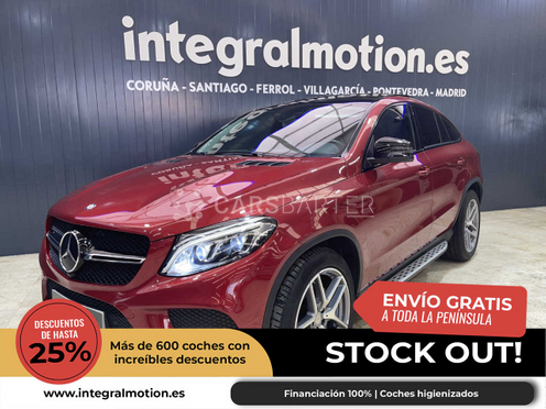 Mercedes-Benz GLE 350 350d 4Matic Coupe AMG-LINE nullcv 2016 - Coruña. 1.
