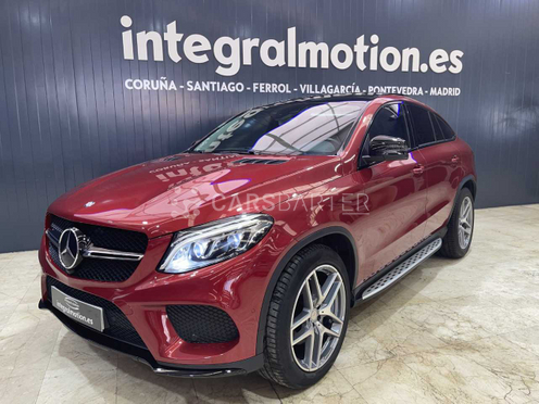 Mercedes-Benz GLE 350 350d 4Matic Coupe AMG-LINE nullcv 2016 - Coruña. 2.